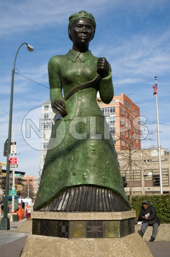 Harriet Tubman statue in Harlem, Uptown Manhattan NYC