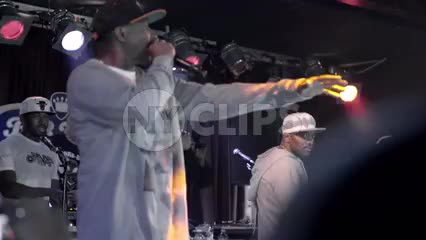 Prodigy of Mobb Deep on stage at show