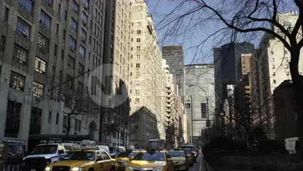 MetLife Building - crossing Park Ave in Midtown Manhattan in NYC