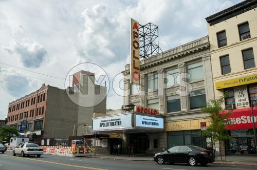 Apollo theater on 125th street in Harlem - Uptown Manhattan New York City NYC