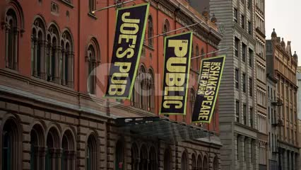 Joe's Pub Public Theater on Lafayette Street in Cooper Square Greenwich Village in Manhattan NYC